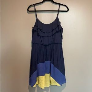 A. Byers ruffle top dress